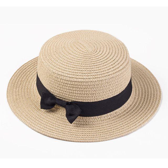 seora navegante sol gorras cinta ronda flat top fedora de la paja sombrero de panam sombreros