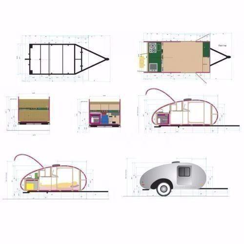 projeto para fabricação de mini - trailer reboque carro                                                                                                                                                                                 Mais