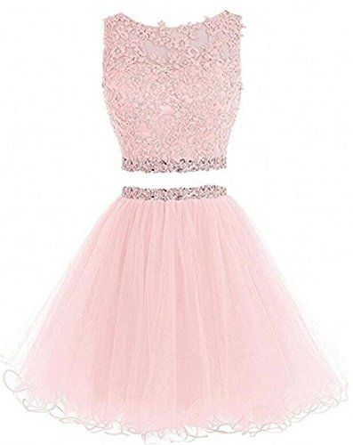 3c18e3f35c7 Welcome To Dydsz Women Short Prom Dress Cocktail Party Homecoming Dresses  Short Evening Gowns A Line Tulle Appliques Beaded Open Back Mini Above  Kenn-Length ...