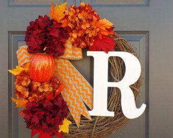 Fall wreath/ Fall decor/ Summer wreath/ Silk by FloralByBrittney