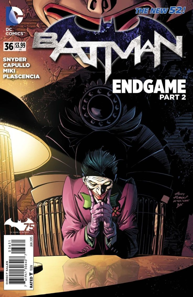 Batman #36 - Endgame, Part Two; Saved (Issue)