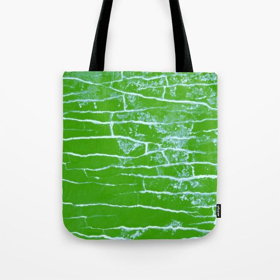"""Our quality crafted Tote Bags are hand sewn in America using durable, yet lightweight, poly poplin fabric. All seams and stress points are double stitched for durability. Available in 13"""" x 13"""", 16"""" x 16"""" and 18"""" x 18"""" variations, the tote bags are washable, feature original artwork on both sides and a sturdy 1"""" wide cotton webbing strap for comfortably carrying over your shoulder.#green #nature #tropical #pattern #stone #croatia"""