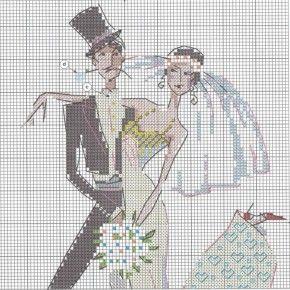 Свадебное танго | Схема вышивки | Скачать