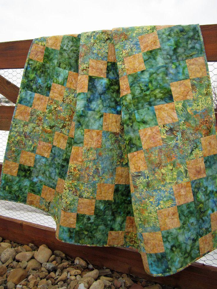 201 best Quilts - Batik images on Pinterest | Quilting ideas ... : batik fabric quilt patterns - Adamdwight.com