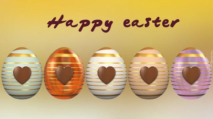 Pisanki, Serca, Wielkanoc