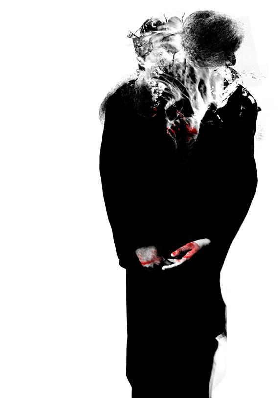 Do you want total war?, de Óscar Valero, o Riot Über Alles, pseudónimo de un ilustrador y poeta. Se trata de una serie de obras que exploran esa insondable sima que llamamos alma humana. Rostros deformados y grotescos, monstruos urbanos que se rebelan contra el orden establecido, amantes de la carne y la sangre, hijos bastardos de un Francis Bacon práctico y visceral