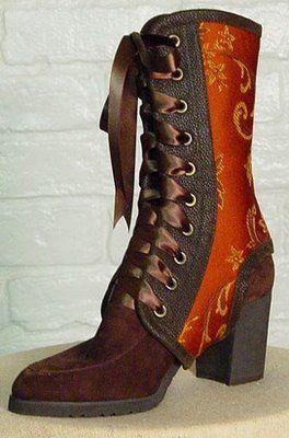 Nice spats. Fashion Me Fabulous: Etsy Shop of the Week: Maria Pozo Design