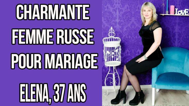 Charmante femme russe pour mariage, site de rencontres UkReine