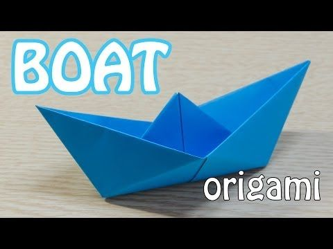 How to make a Paper Boat Origami Tutorial - YouTube