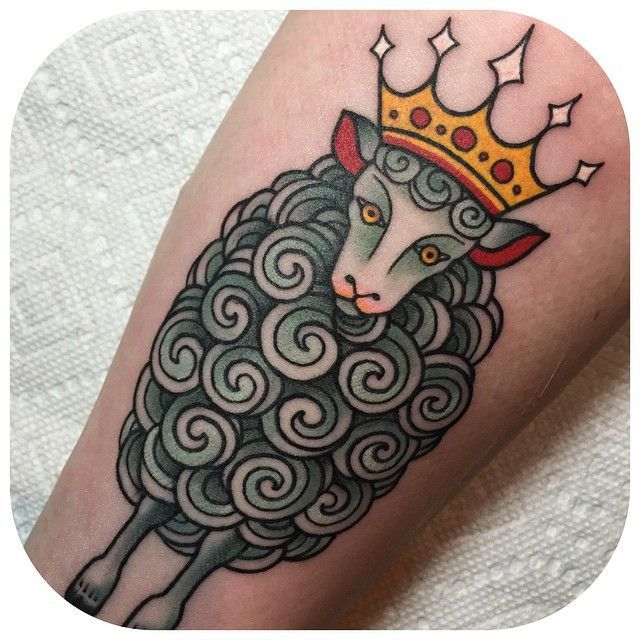 Black sheep tattoo #blacksheep