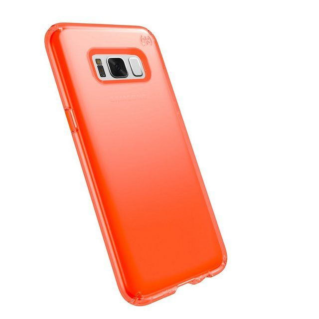 Speck Hardcase Presidio Samsung Galaxy S8 Plus Clear Neon Orange Online Kaufen Galaxy S8 Samsung Galaxy Phone Cases