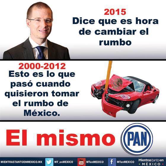 @SamuelMdzM: #Elecciones2015 : Lo importante es mantener la memoria, @MT_enMEXICO http://t.co/Vk4mSs78Xb