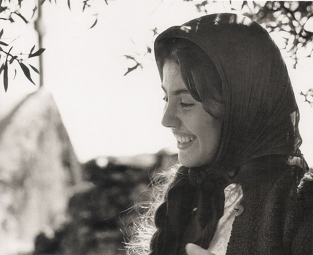 young Greek woman 1960 by mverivaki, via Flickr (CRETE 1960, by John Donat, Crete University Press)