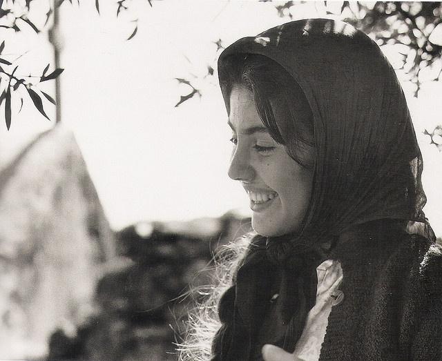 young woman 1960 by mverivaki, via Flickr (CRETE 1960, by John Donat, Crete University Press)