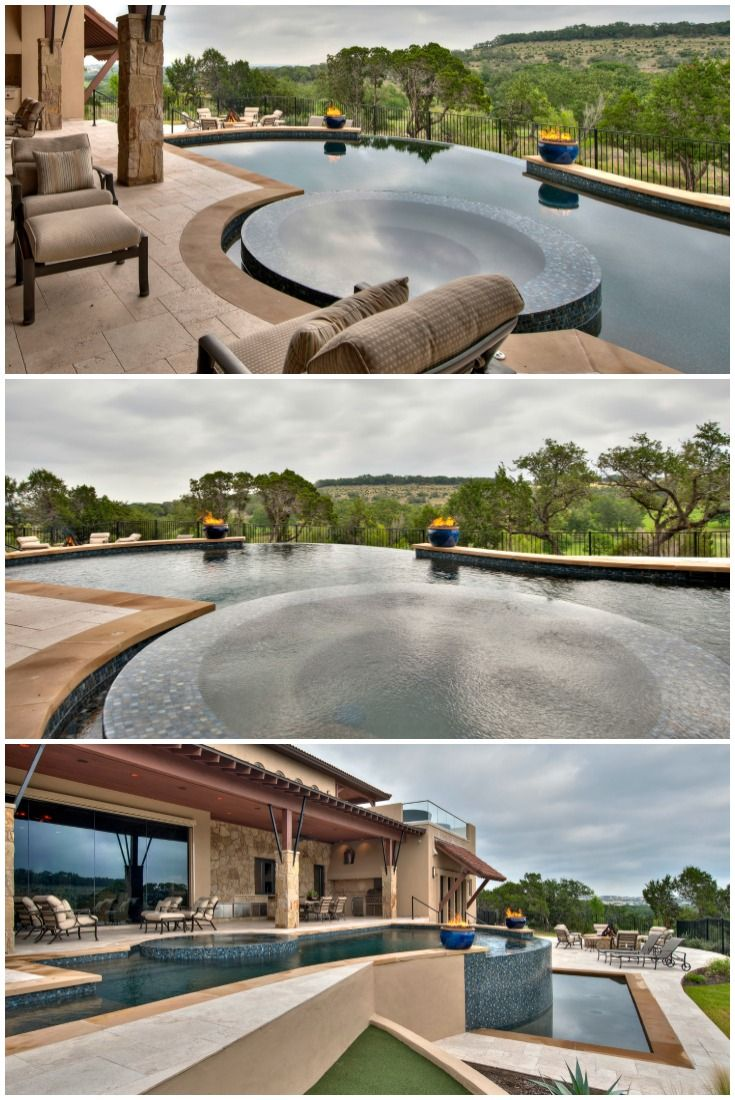 24 best gorgeous backyard pool design ideas images on for Luxury pool area