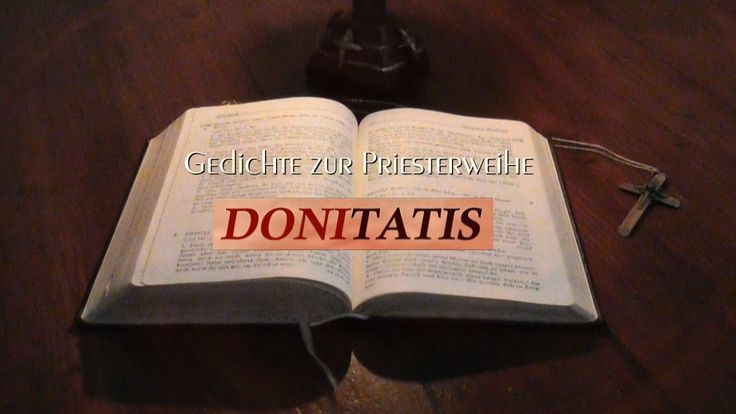 Gedichte zur Priesterweihe