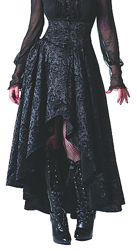 A Ghost Between Us Skirt gothic victorian steampunk womens dresses gowns find more women fashion on www.misspool.com #want