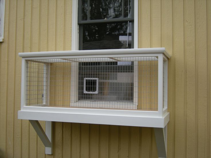 Window Box Diy Catio Plans By Catio Spaces Cat Window