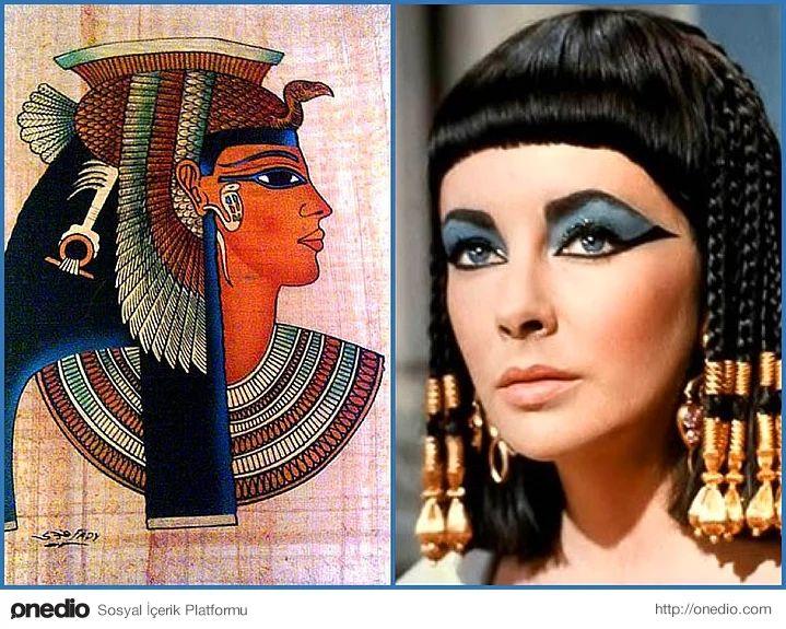 Antik Mısır: Badem Gözlüler Diyarı - Kadın, erkek, çocuk, yaşlı, zengin, fakir, soylu, işçi herkesin makyaj yaptığı bir medeniyetmiş Antik Mısır. Mısırlıların siyah kükürt ve kömür karışımıyla gözlerinin hem altını hem üstünü çizerek badem şeklinde getirdikleri biliniyor. Badem göz, Tanrı Horus'un gözünü temsil ediyor ve Mısırlılar bu makyajlar kötü ruhlardan korunduklarını düşünüyorlarmış. Gözlerine sürdükleri yeşil-mavi renkler ise Malachite isimli bir mineral kayasının tozu ve bu…