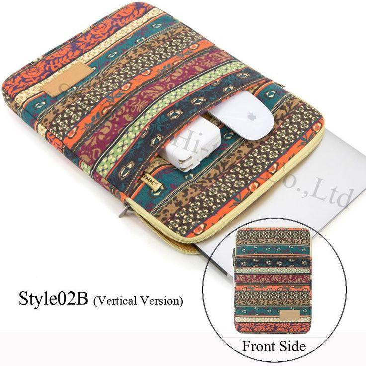 "BRAND NEW STYLISH Genuine Brand Laptop Bag National Style Shockproof Waterproof Laptop Sleeve Notebook Case For Macbook 10/11/12/13.3/14/15/17"" - Tmache"