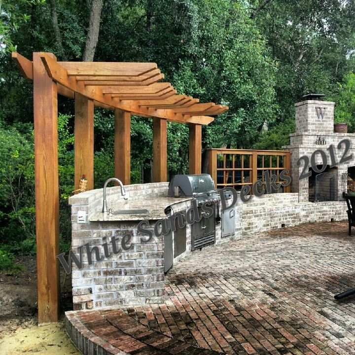 Curved Pergola For The Home Pinterest Fireplaces