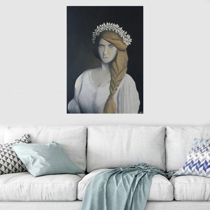 Gallerymak.com - 2.500₺ / 675$ Mahpeyker Kösem #Sultan by Melih Yıldız Tuval üzerine #YağlıBoya / #Oiloncanvas 50cm x 70cm  #gallerymak #sanat #kosemsultan #osmanlı #resim #portre #kadın #sanatsal #ig_sanat #güzellik #tablo #yagliboya #sanatgalerisi #modernsanat #modernart #portrait #ottoman
