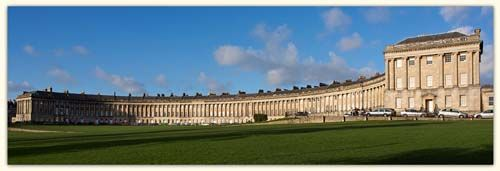 The Royal Crescent, England