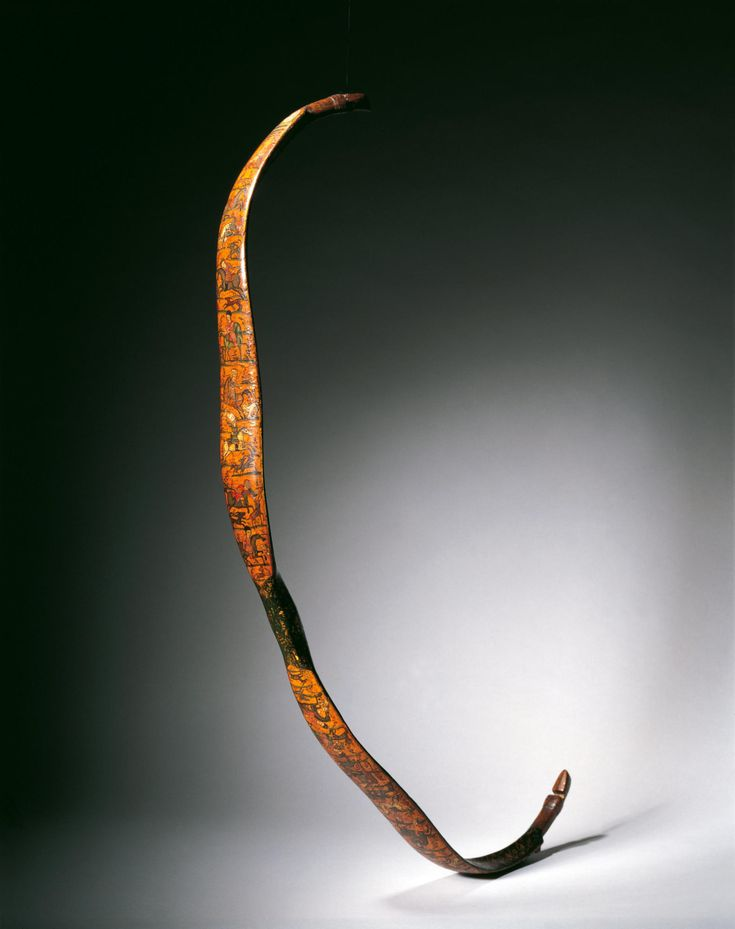 Bow (Date:  1750–1800 Materials and Technique:  Lacquer)