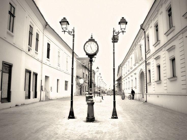 Picture of a street in Baia Mare, Romania