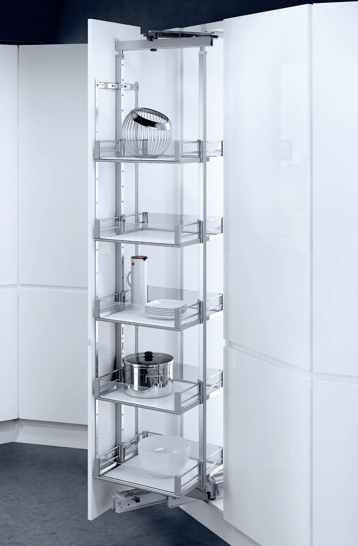 Pantry pull-out HSA Rotary, Available basket variants ...