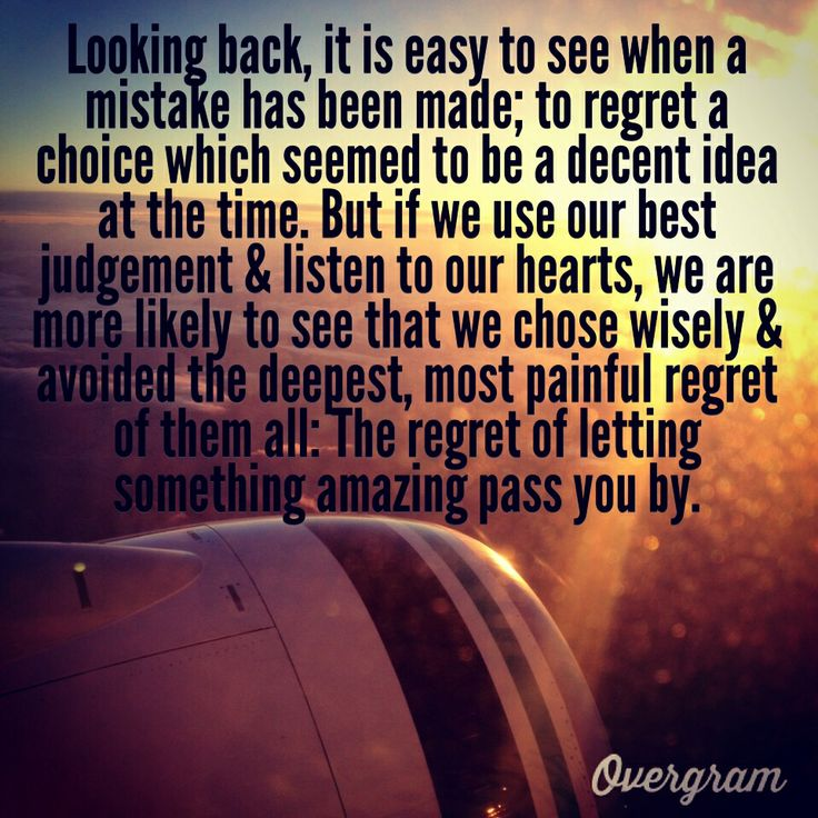 Love Regret Quotes Images: Greys Anatomy Quote. Love Life With No Regrets.