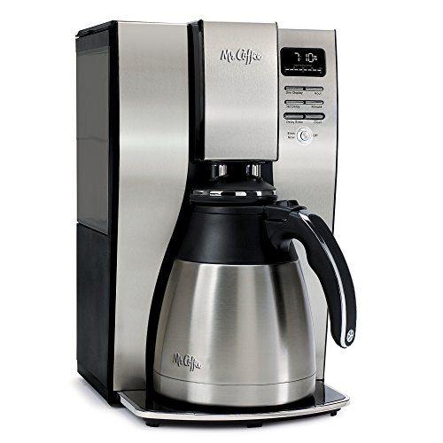 Mr. Coffee 10-Cup Optimal Brew Thermal Coffee Maker Stainless Steel