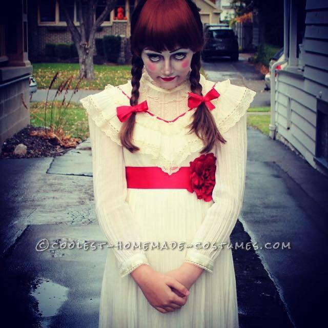 Creepy Annabelle Halloween Costume