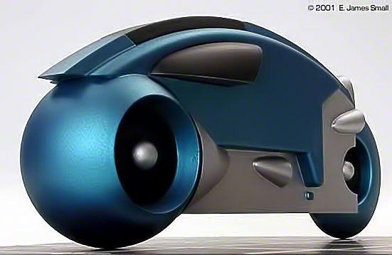 Cómo lucirán las motos del futuro @alvarodabril