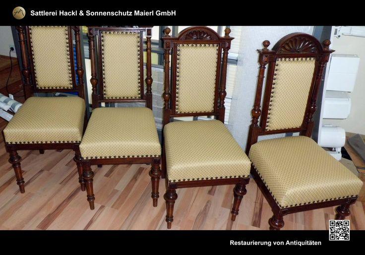 Restaurierung von alten Möbeln