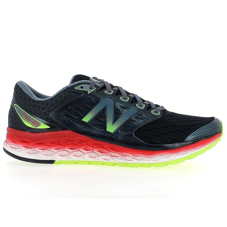 Chaussures de running Chaussures de running New Balance M 1080 BK6 Fresh Foam Grise Rouge et Verte pour Homme