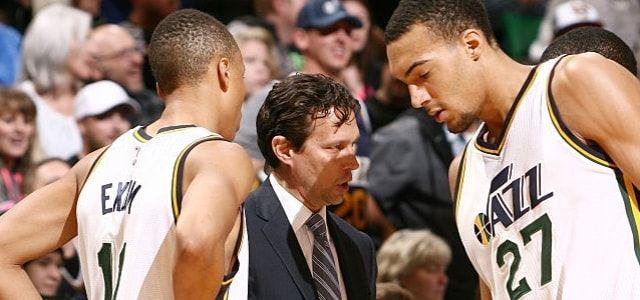 Utah Jazz - Quin Snyder - Rudy Gobert - Derrick Favors - Boris Diaw - Gordon Hayward