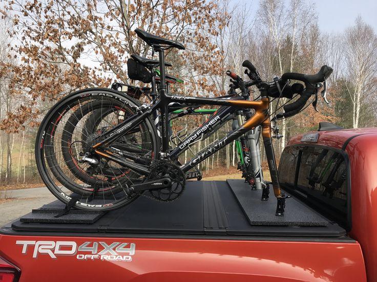 Pin By Robert Vaughan On Custom Tacoma Truck Bed Bike Rack