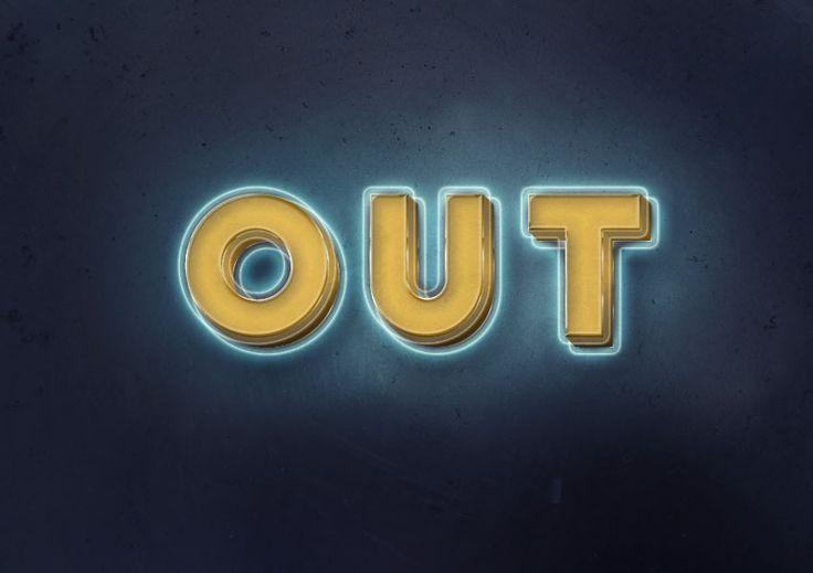 How to Create a 3D Glowing Retro Text Effect in Adobe Photoshop Design Psdtuts