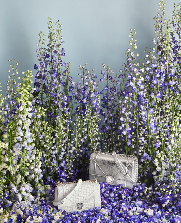 Statement Clutch - Floral Lupine Clutch by VIDA VIDA