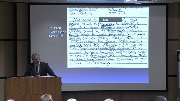 Dyslexia - Can a 17 yr old make large gains in Reading, Comprehension, Writing? Dr. Tim Conway - YouTube
