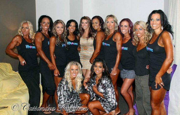 My gorgeous ladies at the IFBB Fit X Event in 2012  #motivation #nickyjankovic #getfitgetfabulous #teamfitchic