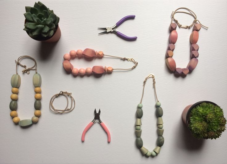 A sneak peak at some of our best sellers on baublebaby.com. Get your organic, functional and fashionable teething necklace!