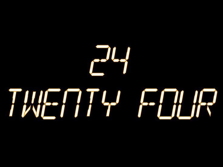 Resultado de imagen para twenty four