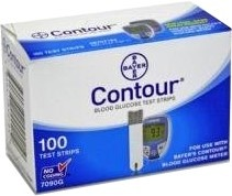 Bayer Ascensia Contour Test Strips
