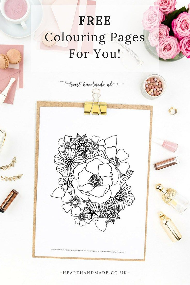 Free Colouring Pages For You!!