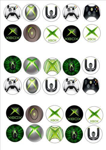 Xbox Cake Topper