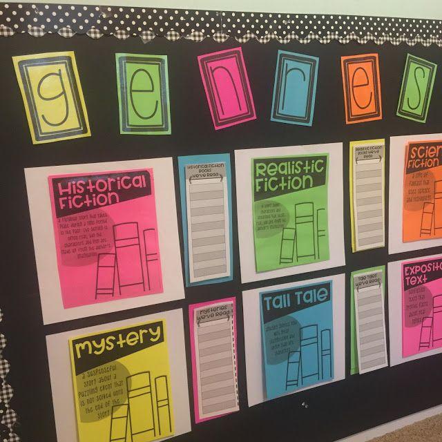 Life in Fifth Grade: Interactive Genre Bulletin Board
