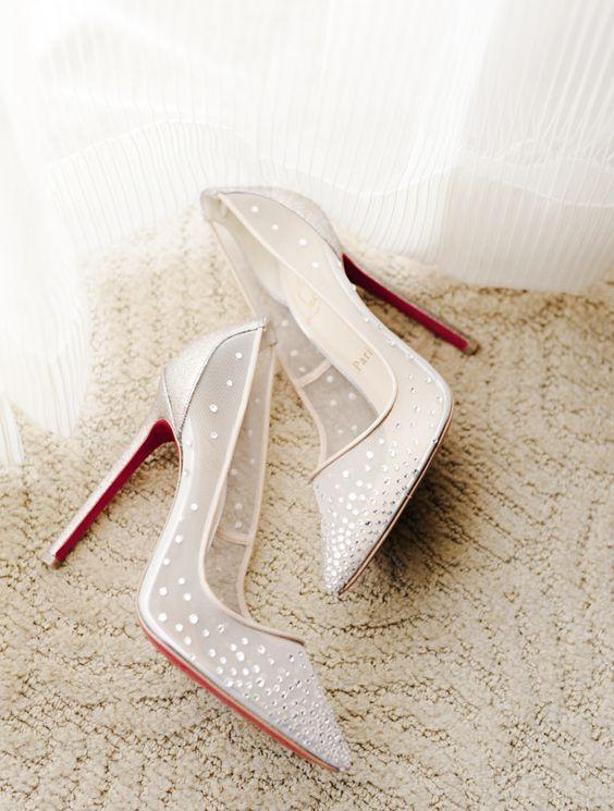 Wedding shoes idea; Featured Photographer: Jana Williams Photography