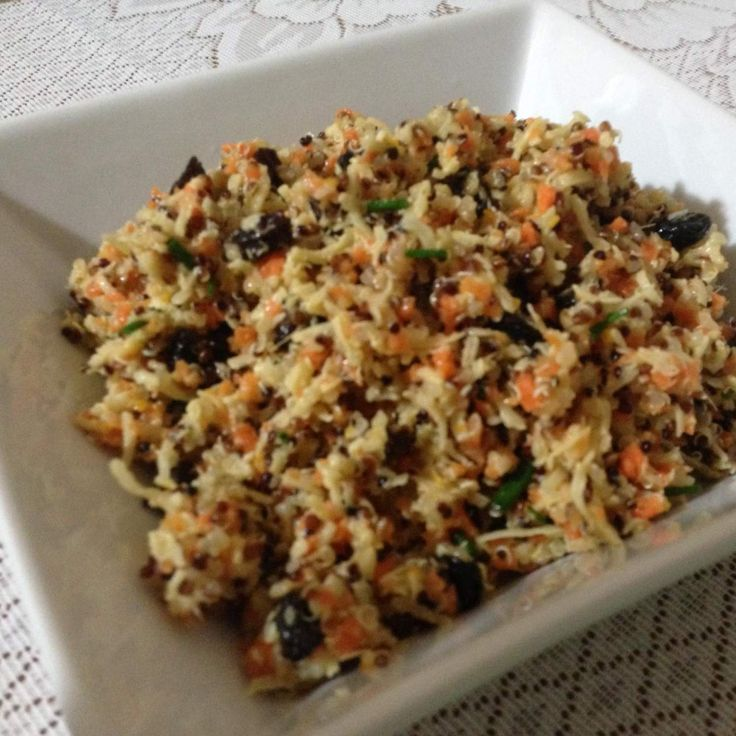 Recipe Quinoa, carrot, coconut and ginger salad by muggleton - Recipe of category Side dishes